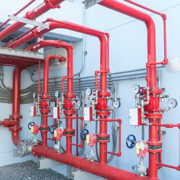 impianto sprinklers antincendio prevenzione incendi SCIA VVF